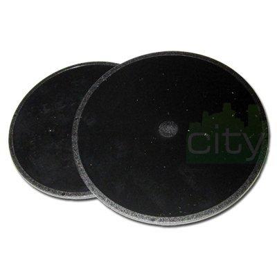 (2 Pack) Original Magellan GPS Adhesive Dashboard Mounting disk for Maestro 3100 3140 3200 3210 3220 3225 3250 4000 4010 4040 4050 4210 4215 4200 4220 4245 4250 4350 4370 4700 5310 5340 (Original Magellan disc part #702341) ()