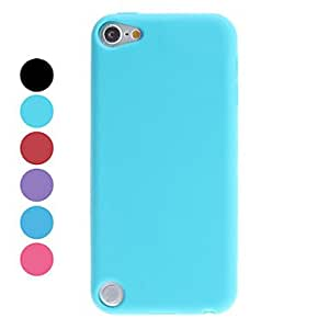 WEV Simple Style Soft Case for iTouch 5 (Assorted Colors) , Rose