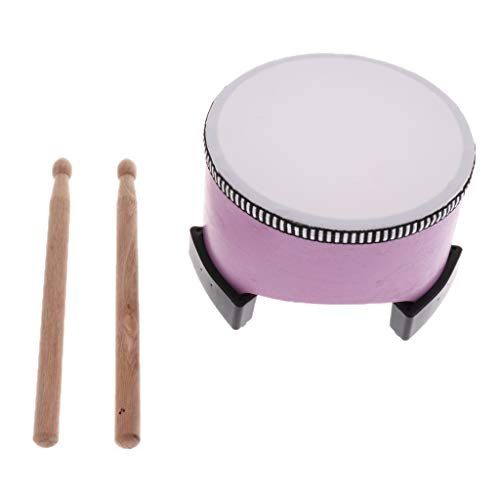 b blesiya hand drum music percussion parts for toddlers children educational toy purple as. Black Bedroom Furniture Sets. Home Design Ideas
