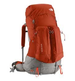 The North Face Banchee 65 Backpack - Red Clay/Zion Orange Large/X-Large