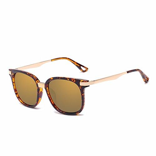 de de Gafas nbsp;Gafas Mujer Personalidad F Sol Ojos de C Retro Sol polarizadas Hombre Intellectuality 5aTqPU