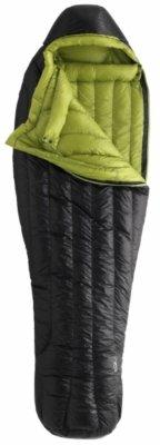 Marmot Plasma 30 Down Sleeping Bag, Regular-Left, Black, Outdoor Stuffs