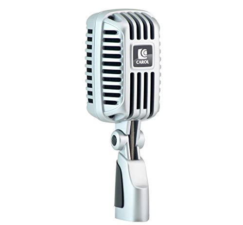 Professional Super-Cardioid Retro Vintage Microphone - The Classic Elvis Microphone | by CAROL CLM-101