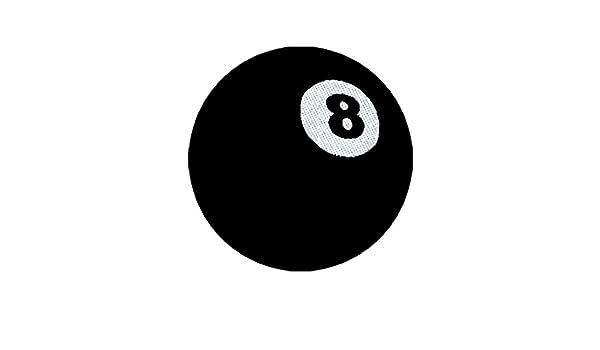 armardi b Parche billar bola 8: Amazon.es: Ropa y accesorios