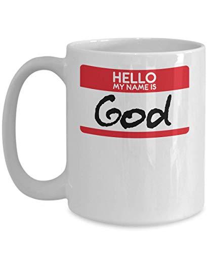 My Name Is God Halloween Costume Messiah Jesus Christians Catholics Religion Religious Trick or Treat Gift Mug | Simple Halloween Costume -