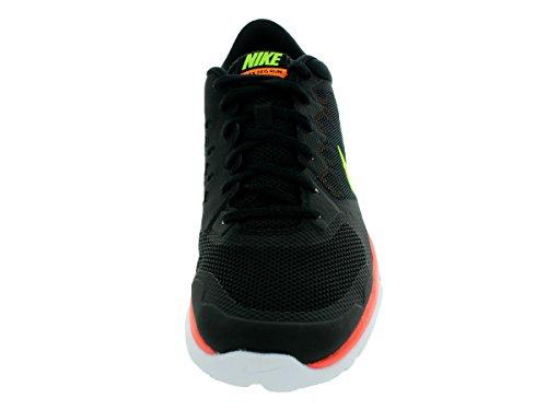 Nike Flex 2015 RN Zapatillas de running, Hombre Black/Volt/Lsr Orng/Brght Ctrs