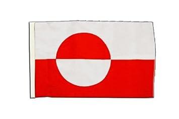 Flaggenfritze/® Flagge Gr/önland 30 x 45 cm