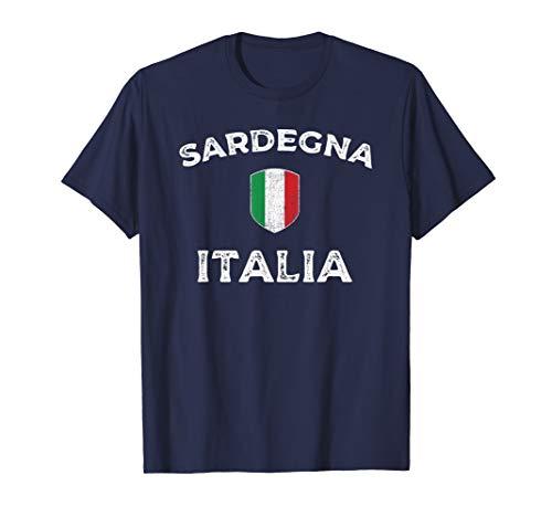 Sardegna Italia - Sardinia Italy Flag Tee Shirt