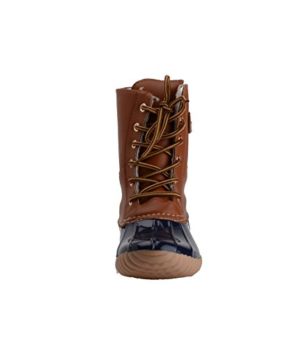 Foot Henry Black Cognac 500 Mission Womens Boots Ferrera Lined Duck Navy BqrB6IY