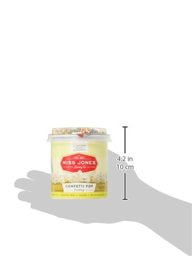 Miss Jones Baking 90% Organic Birthday Buttercream Frosting, Perfect for Icing and Decorating, Vegan-Friendly: Confetti Pop (Pack of 6) by Miss Jones Baking (Image #15)