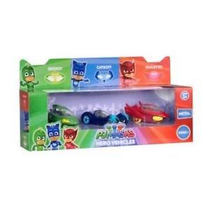 PJ Masks Paquete de 3 vehículos héroe - Serie 1 Personajes