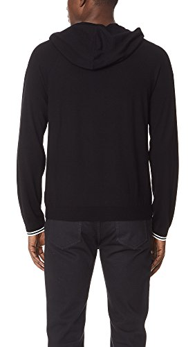 Vince Men's Pullover Hoodie Sweater, Black, Medium by Vince (Image #2)