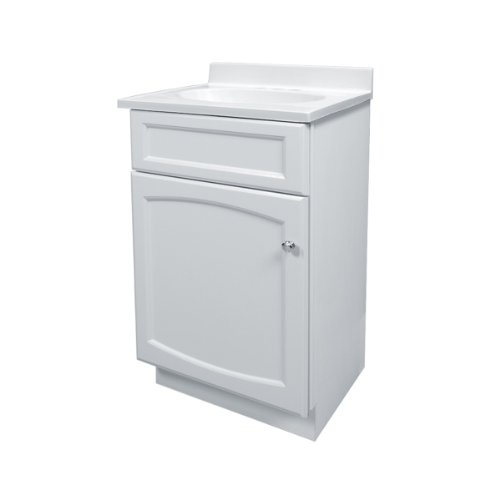 Foremost HEW1816 Heartland 18-Inch White Vanity with Top (Foremost Tools)