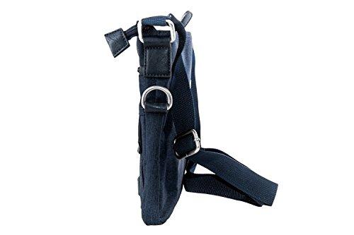 Umgehängt Mann Gianmaro Venturi Blau Bandolier Tasche Flache F485