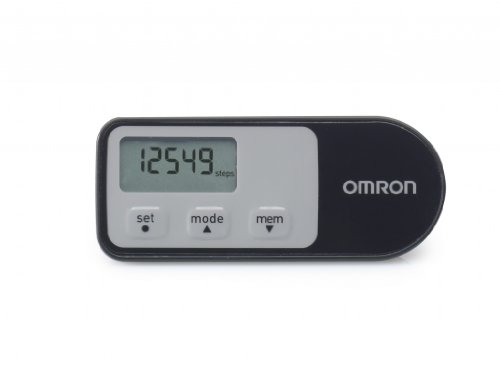Omron Walking Style One 2.1 Pedometer - Black/grey by Omron