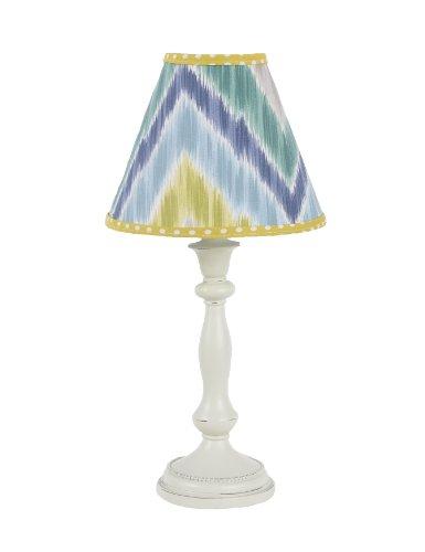 Cotton Tale Designs Standard Lamp and Shade, Zebra Romp ()