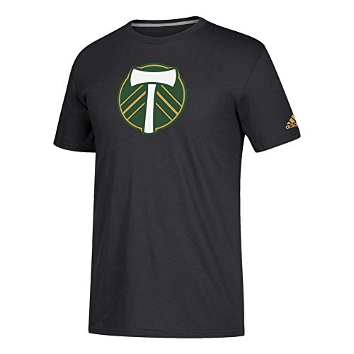 (adidas Portland Timbers Official Locker Room Squad Tee Secondary (Large))