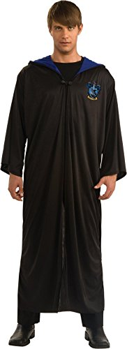 Harry Potter Adult Ravenclaw Robe, Black, Standard Costume (Harry Potter Birthday Party Ideas)
