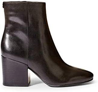 Guess Tronchetti leren laarzen voor dames, met ritssluiting, zijdelingse stevig, hak: 9 cm.