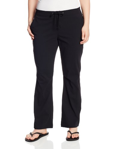 Columbia Women's Anytime Outdoor Plus Size Boot Cut Pant, Black, 24W Regular from Columbia