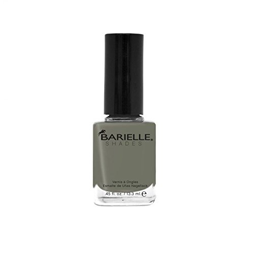 Barielle Silhouette Nail Polish, Black and Gray with Shimmer, 0.45 (Barielle Shades)