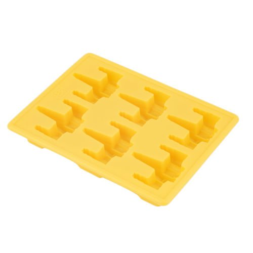 Price comparison product image Alicenter(TM) Fighter Style Silicone Ice Cube Tray Mold Cookie Soap Baking Mould DIY