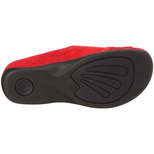 Berkemann 1080 De Fedora Zuecos Rojo Para Washable Ante Mujer Melbourne araqFwxS