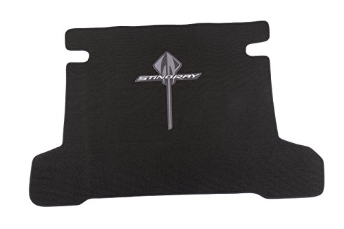 GM Accessories 23469813 Cargo Area Carpeted Mat in Black with Stingray Logo Carpeted Cargo Area Mat