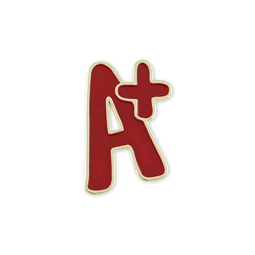 A+ Teacher Appreciation Enamel Lapel Pin– 1 (Appreciation Lapel Pin)