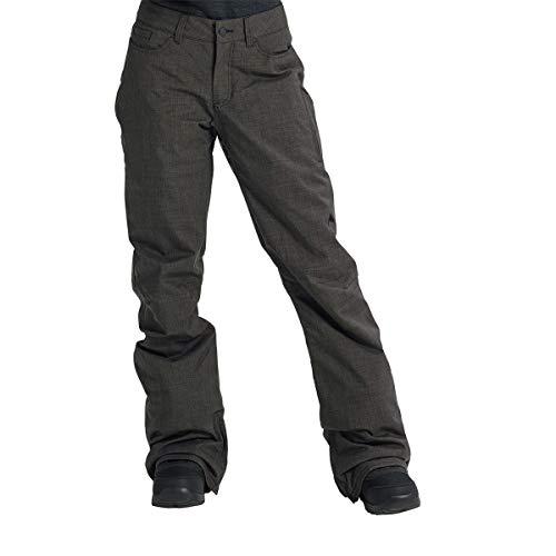 (Burton Women's Fly Snow Pant, True Black Heather, Medium)