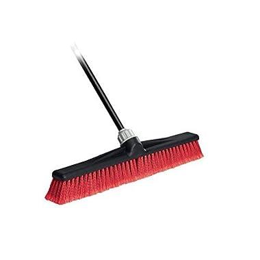 O-Cedar Professional 24  Rough-Surface Push Broom