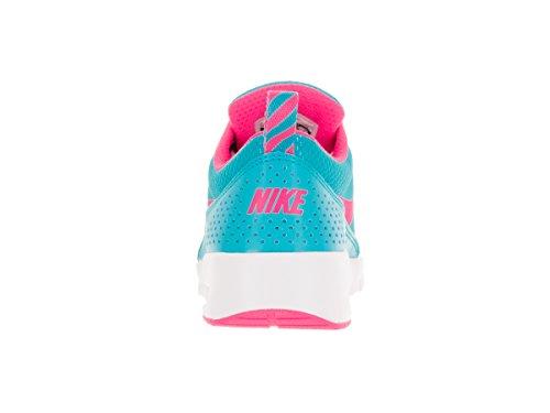 Nike Kids Air Max Thea (GS) Gamma Blue/Pink Blast/White Running Shoe 6.5 Kids US