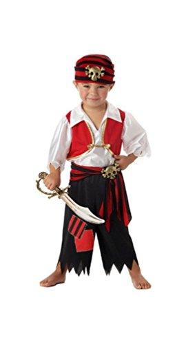 Ahoy Matey! Pirate Toddler Costume - Toddler -