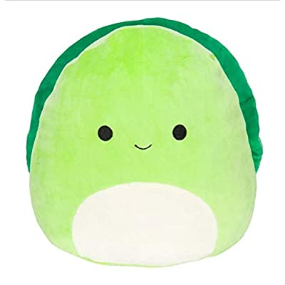 Squishmallow 12 Inch Sealife Pillow Plush | Green Turtle: Toys & Games