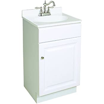 Foremost Coeat1816 Columbia 18 Inch Espresso Bath Vanity Combo Bathroom Vanities