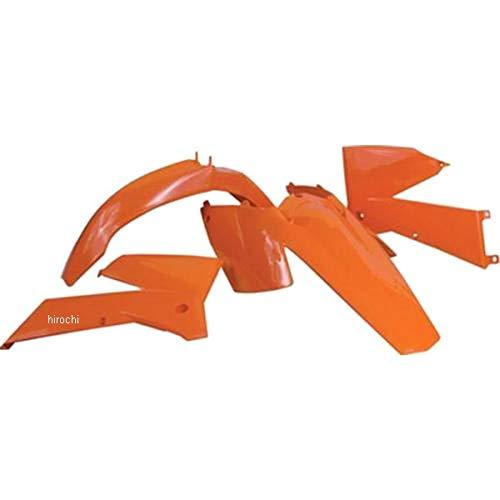 ユーフォープラスト UFO PLAST 外装キット 00年-14年 CRF50、XR50 オレンジ 115542 HO036004-127   B01MXPQC39