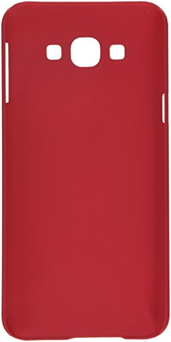 Nillkin Cell Phone Case for Samsung Galaxy A8 - Retail Packaging - Bright Red