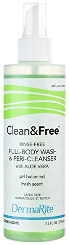 AOSS Shampoo and Body Wash, Rinse Free, 7.5 - Shampoo Free Rinse