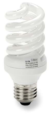 Iglow 98763 - Set de bombillas de bajo consumo (E27, 15 W, 10000 h) (8 piezas)