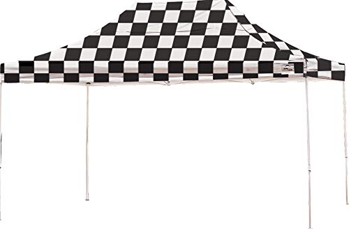 10' x 15' Straight Leg Popup Canopy with Black Wheel Bag - C
