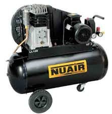 Compresor correas 3hp 50l nuair b-2800b/3m/ 50 tech AIRUM