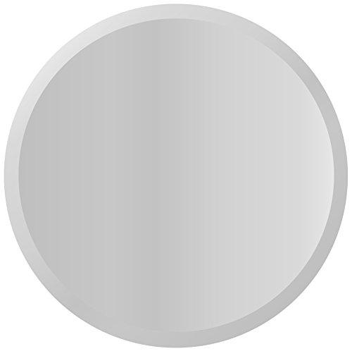 Cheap Lulu Decor, Bevel Mirror, Frameless Decorative Round Wall Mirror, 25 inches (Bevel)