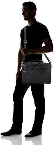 Spikes & Sparrow Unisex-Erwachsene Business Bag Laptop Tasche, 6x28x39 cm Schwarz (Black)