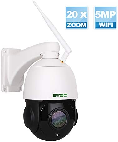 5MP PTZ WiFi Security Camera Outdoor