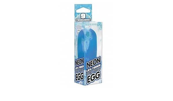 Amazon com: Neon luv one touch egg blue: Health & Personal Care