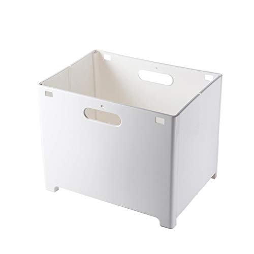 Ktyssp Punch-Free Folding Storage Basket Bathroom Wall Hanging Laundry Storage Basket Dirty - With Long Bathroom Storage Mirrors
