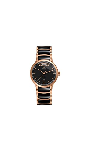 Rado-Centrix-Black-Dial-Rose-Gold-PVD-and-Ceramic-Automatic-Mens-Watch-R30158172