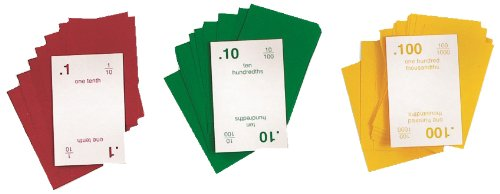 American Educational Decimal Squares Playing Cards