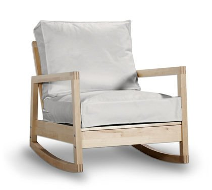 Funda para sillón de IKEA LILLBERG/SYLT mecedora en crema ...