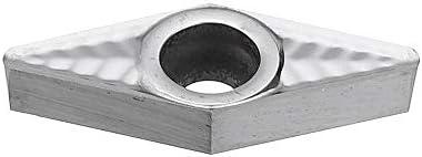 PIKA PIKA QIO VCGT11T302 / 08 Carbide Insert DCGT32.35 Grad-Drehwerkzeug-Einsatz for Aluminium Drehwerkzeuge (Größe : VCGT11T302)